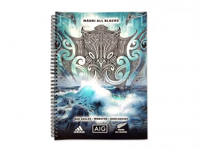 Maori All Blacks Training Notebooks