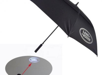 LED Logo Handle Umbrella